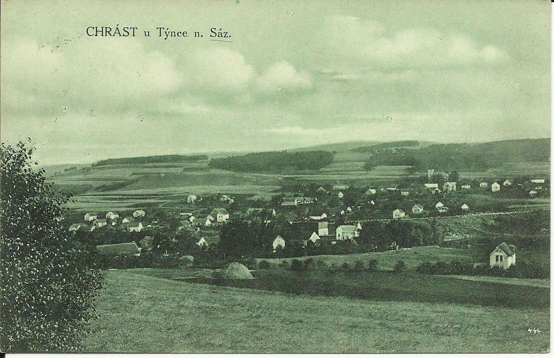 Chrást nad Sázavou 1931