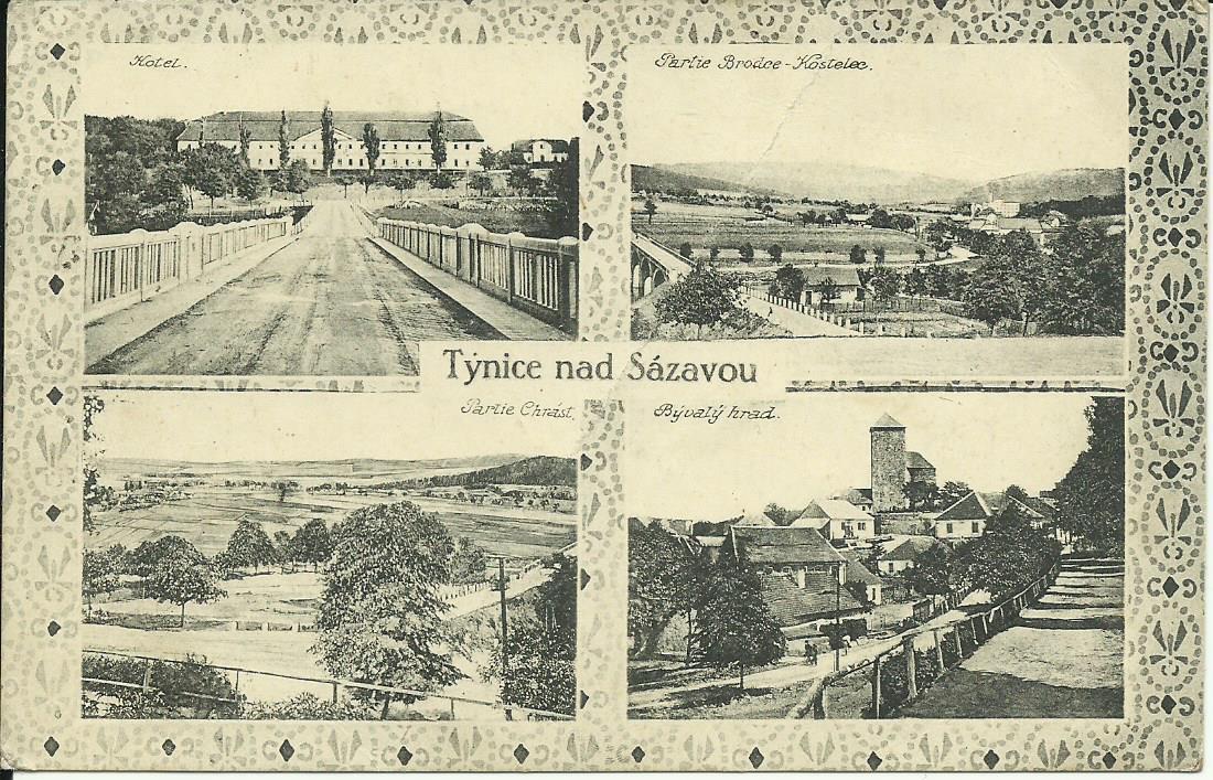 Týnec nad Sázavou 1923
