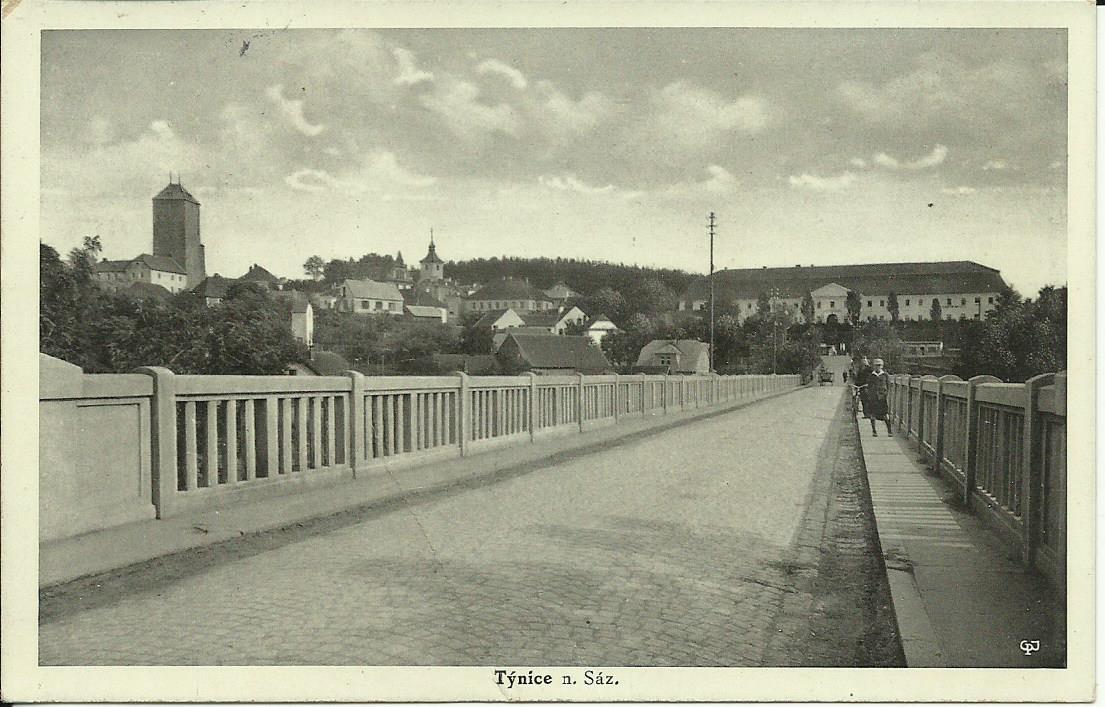Týnecký most 1934