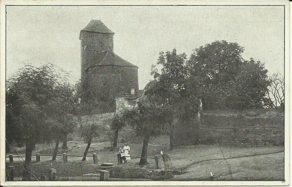 Týnecký hrad 1921