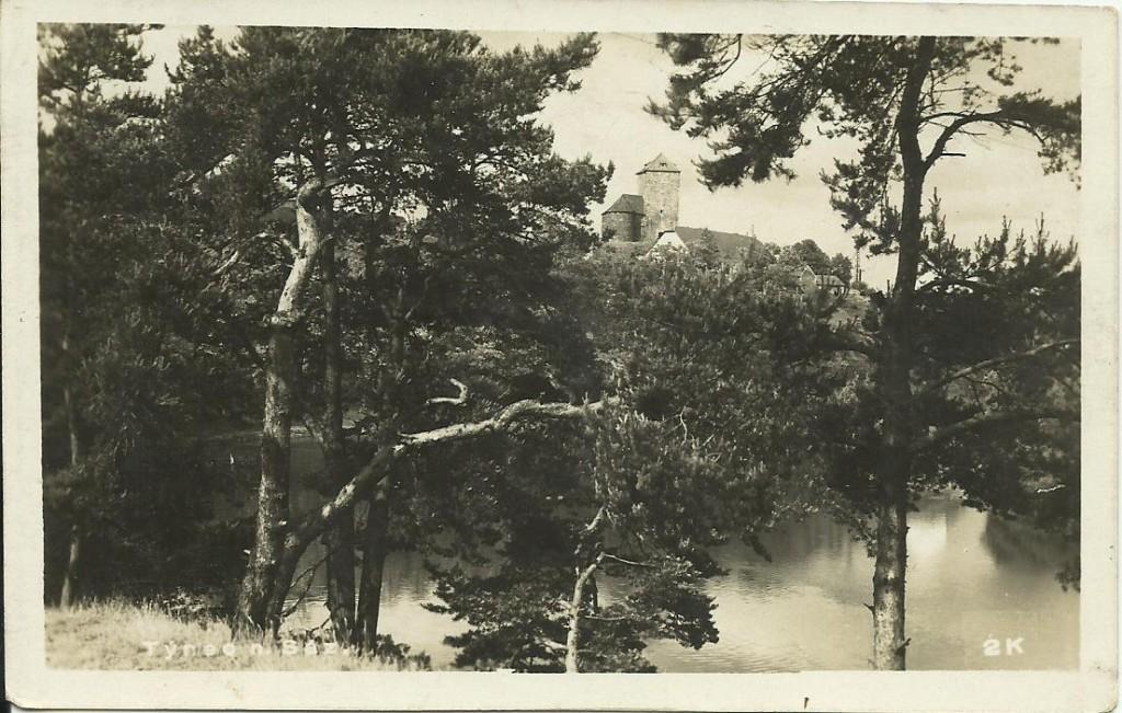 Týnecký hrad 1932