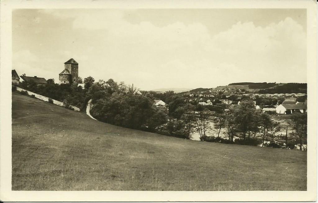Týnecký hrad 1957