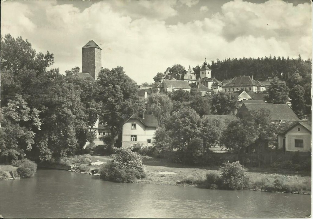 Týnecký hrad 1970